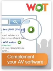 Download Web of Trust to avoid untrustworthy web links and surf safer!