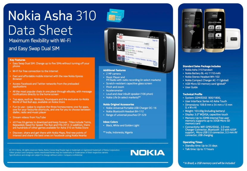 nokiaasha310_data_sheet_010213-final